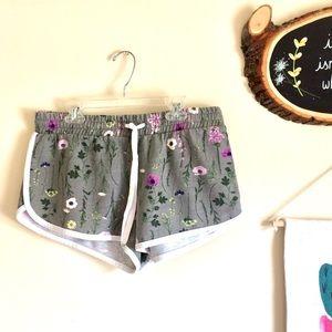 Xhilaration Floral Print Pajama Shorts